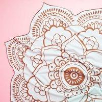 Lotus Towel by Vix Paula Hermany