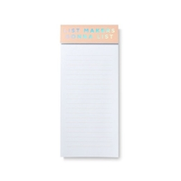Roobee Holographic Foil 'List Makers Gonna List' Magnetic Notepad