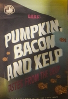 Pumpkin, bacon & kelp treats