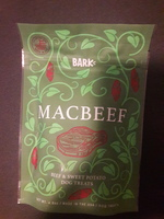 Macbeef beef & sweet potato dog treats