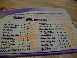 Harry Potter Weasley Wizard Wheezes Owl Orders Pouch