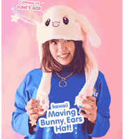 Moving ears bunny hat
