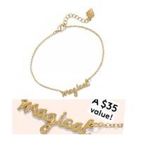 "Birchbox x Wonderlust ""Magical"" Bracelet"