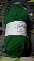 Knit Picks wool yarn - green (grass)
