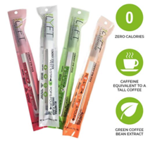 Lyft clean caffeine energy stir stick