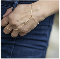 Jules Smith Serena Hand Chain Bracelet