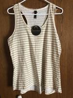 Nouveau striped pajama top