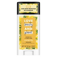 Love Beauty and Planet Coconut and Ylang Ylang deodorant