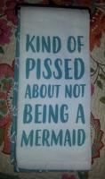 Three Girls Wish Mermaid Kitchen Towels