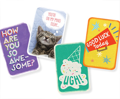 4 Hallmark mini greeting cards with envelopes