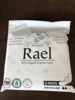 Rael organic pads.