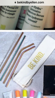 Be Kind Reusable Metal Straws