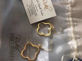 Rivka Friedman earrings in gold