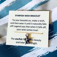 Starfish Wish Bracelet by Lunar Dreams Boutique