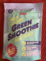 Pup u up green smoothie dog treats