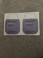 Living proof color care shampoo & conditioner sample