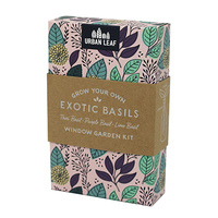 Urban Leaf Exotic Basil Kit