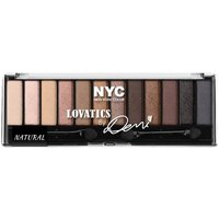 NYC New York Color Lovatics By Demi Eye Shadow Kit Compact Palette