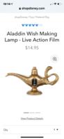 Disney Aladdin Wish Lamp