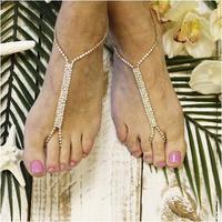 Glamorous Barefoot Sandals