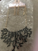 Fabulous necklace and earrings