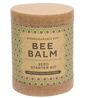 Modern Sprout Bee Balm Seed Starting Kit