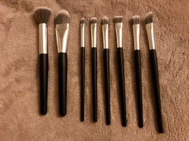 Makeup Brushes START MAKERS Wooden Synthetic Makeup Brush Set