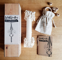 DIY Macarme' plant hanger kit by Wild & Feather