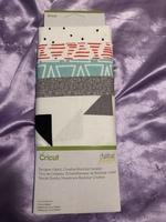 Cricut designer fabric Rockstar sampler