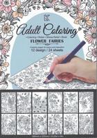 Adult Coloring Flower Fairies