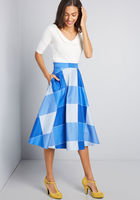 Collectif x MC All in the Pockets Midi Skirt
