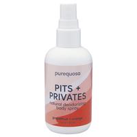 Purequosa Pits+Privates: Grapefruit & Orange
