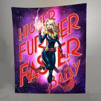 Captain Marvel Tapestry