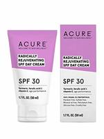 Acure radically rejuvenating SPF day Cream SPF30