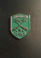 Quidditch Captain Enamel Pin - Slytherin