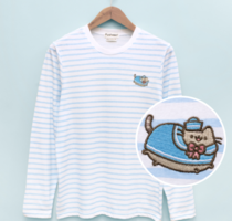 Sailor Pusheen Long Sleeve Tee
