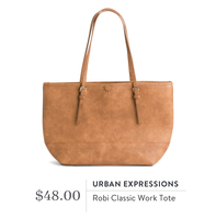 Urban Expressions Robi Classic Tote