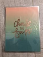 Chase the sun Erin Condren planner cover