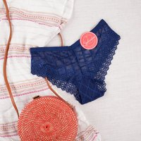 Wilshire Montana Navy Lace Panties from Splendies