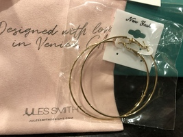 Jules Smith Large Gold Hoop Statement Earrings