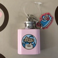 Pusheen Mini Keychain Flask