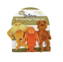 Lorax finger puppets