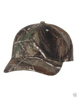 Realtree camouflage ball cap