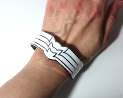 Band of Cats Cuff Bracelet