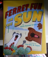 FERRET FUN IN THE SUN CHILDRENS BOOK
