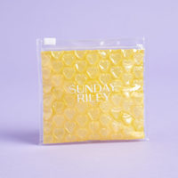 Sunday Riley Yellow Heart Bubble Pouch