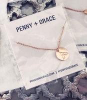 Penny Grace Wanderlust Tent Disc Necklace
