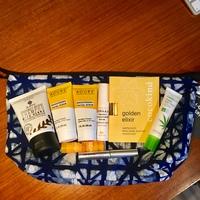 Blue Bag + Mix of Items