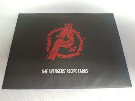 Avengers Recipe Cards