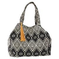 Dot Dash Woven Bag ($68)